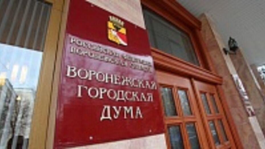 Депутатов Воронежской гордумы хотят оставить без зарплаты