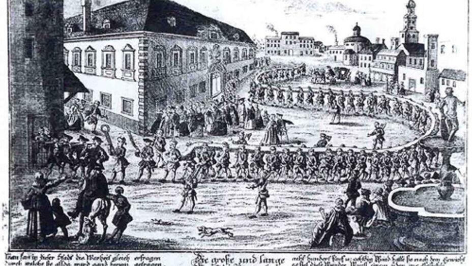 В Кенигсберге возродили немецкий праздник Длинной колбасы