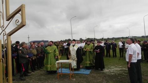 В День Святой Троицы Кантемировку посетил митрополит Воронежский и Борисоглебский Сергий