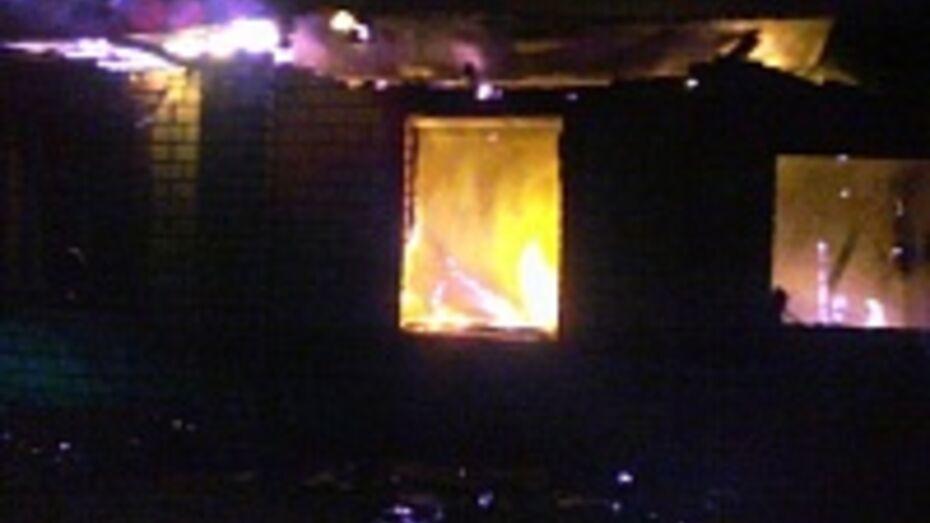 Один человек погиб в Таловском районе при пожаре в доме
