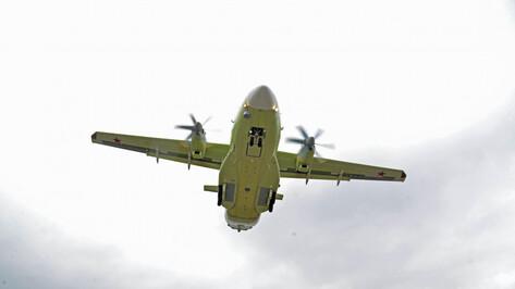 В Воронеже самолет Ил-112В совершил первый полет