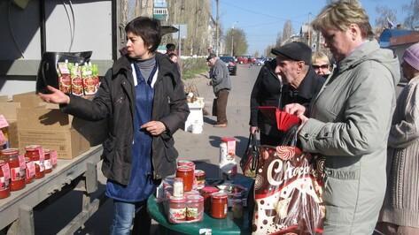 В Семилуках начали проводить ярмарки выходного дня