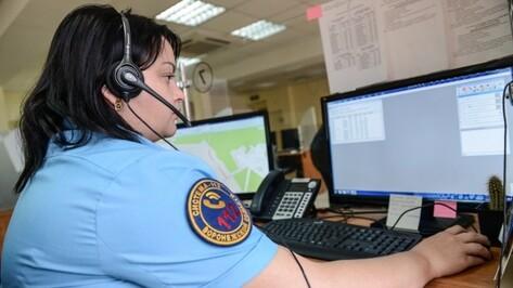 В Воронежской области служба спасения 112 приняла 1,5 млн звонков за год