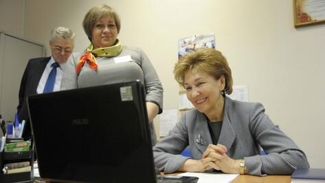 Сенатор от Воронежской области укрепилась в медиарейтинге членов Совфеда