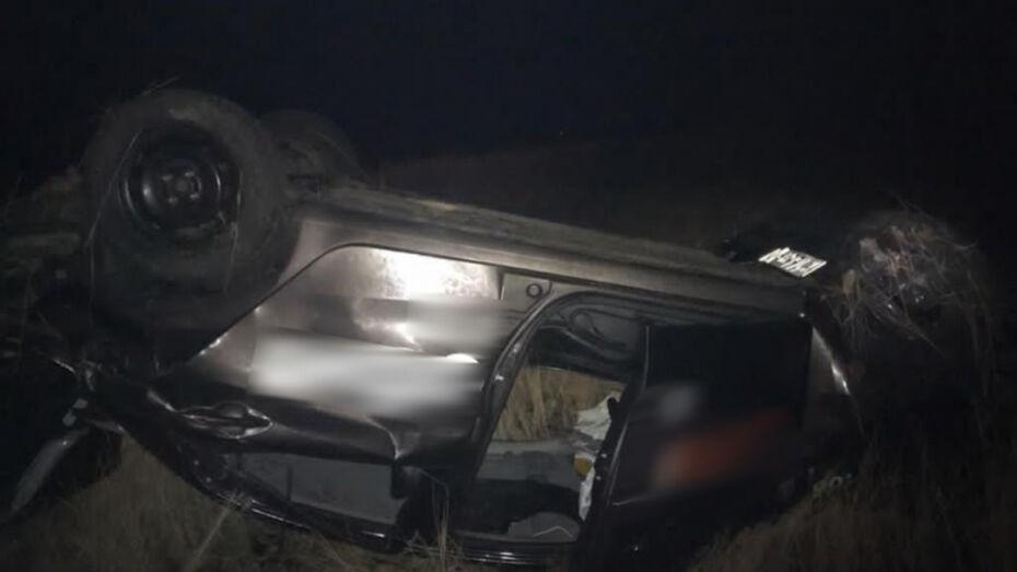 В перевернувшейся в Воронежской области KIA погибла москвичка
