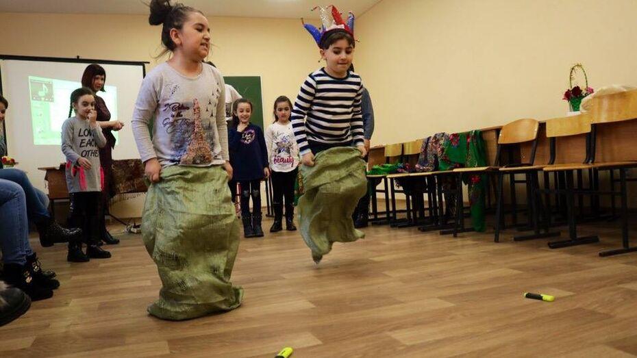 В Воронеже прошла Масленица для детей мигрантов