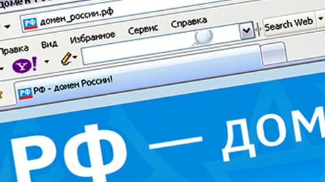 Треть воронежцев хочет видеть кириллицу в адресах сайтов