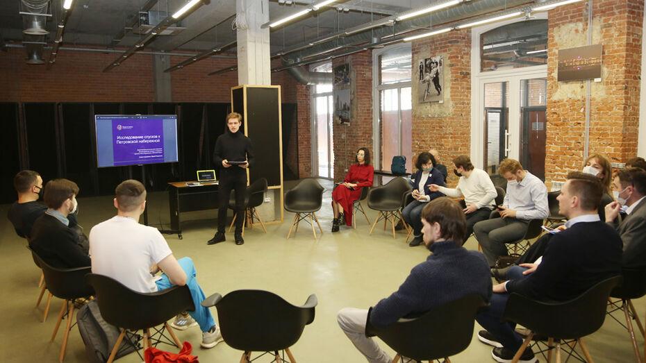Петровскую набережную в Воронеже предложили связать с «Алыми парусами»