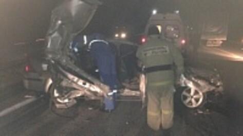В Воронежской области «Форд» врезался в грузовик: два человека погибли