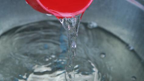 В «РВК-Воронеж» объяснили отсутствие воды в двух районах города