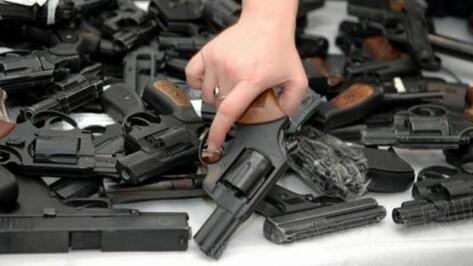 Полицейские заплатят воронежцам за добровольно сданное оружие