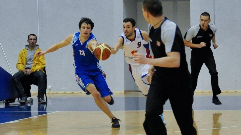 Воронежские баскетболисты проиграли аутсайдеру лиги