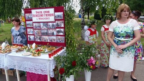 В Верхнем Мамоне праздник Троицы собрал более 200 жителей района