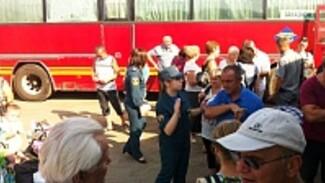 В Калугу выехали 59 переселенцев из воронежского палаточного городка