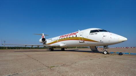Авиакомпания «Руслайн» откроет дополнительный рейс из Москвы в Воронеж