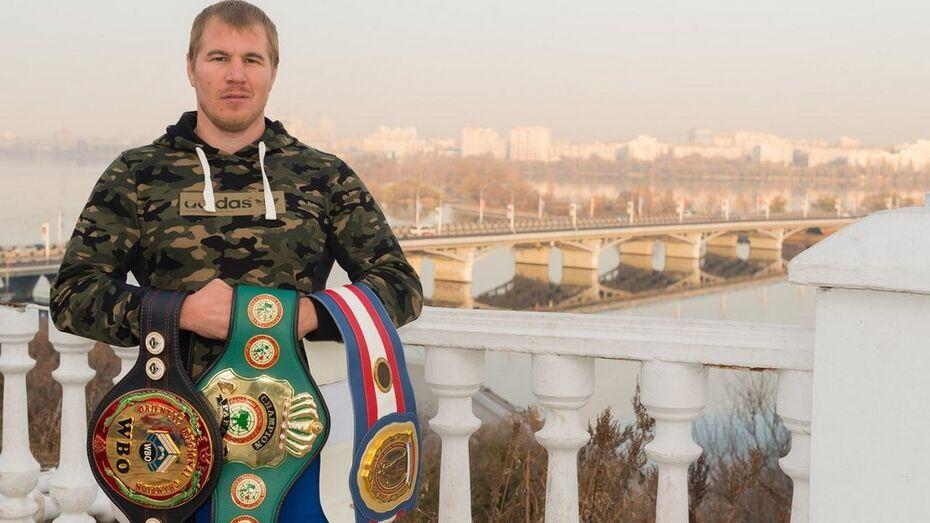 Хохольский боксер Андрей Князев в конце февраля выступит на ринге в Воронеже