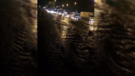 Водоканал назвал причину коммунальной аварии в Воронеже