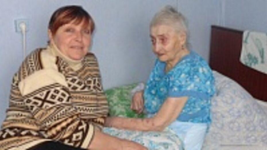 Одинокая пенсионерка из Репьевского района потеряла ногу, но обрела новую семью