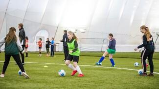 Академия воронежского «Факела» провела первый отбор в женскую команду