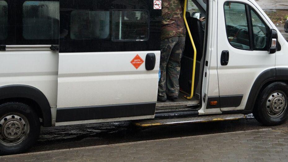 В Воронеже микроавтобус №88а изменит маршрут