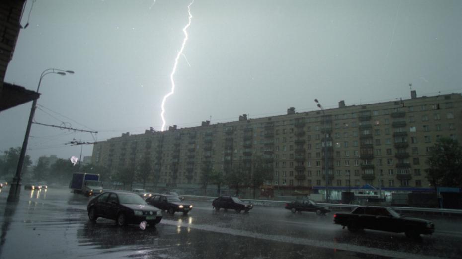 На рабочей неделе в Воронеже будет гроза