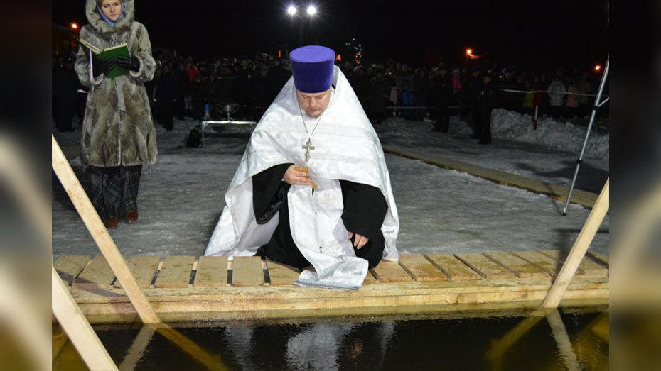 В Богучарском районе на Крещение оборудуют 3 купели