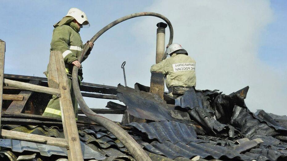 В Рамони выгорела однокомнатная квартира