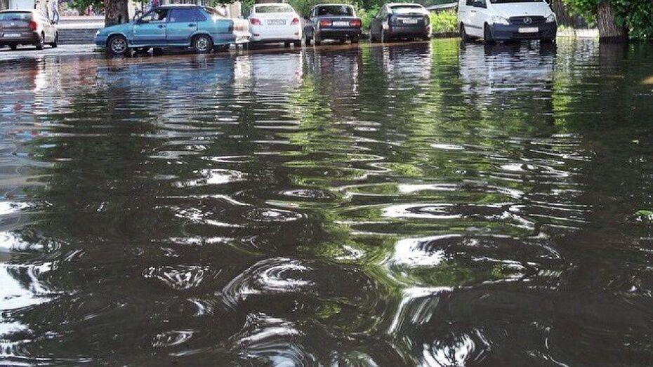 В Воронежской области объявили штормовое предупреждение из-за ливней и града