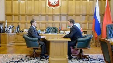 Алексей Гордеев поручил главе воронежского Фонда капремонта снизить коррупционные риски
