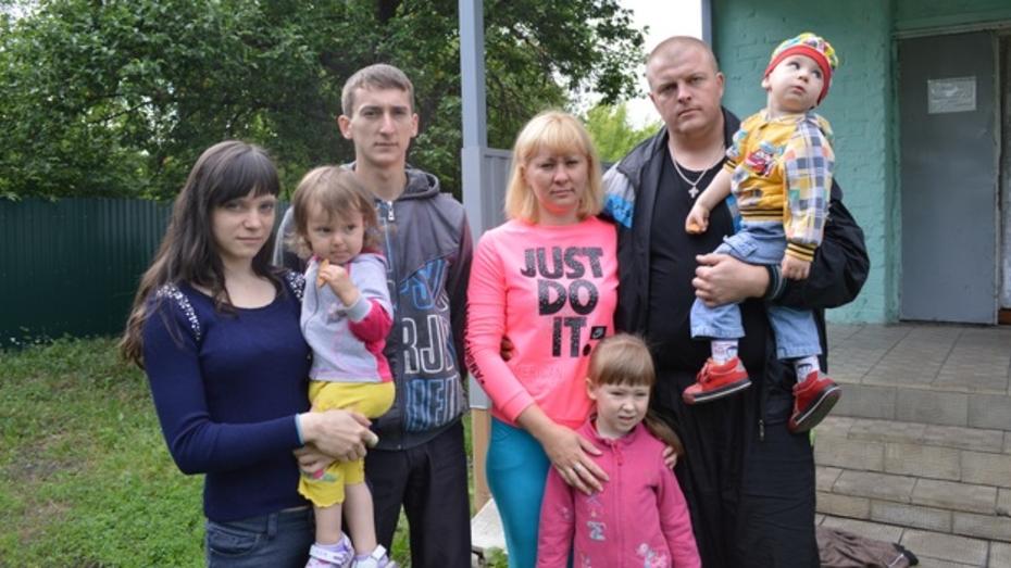 Рамонь приняла 20 жителей Донецкой области