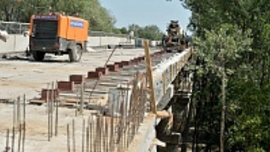Мост через Хопер в Воронежской области откроется на месяц раньше срока