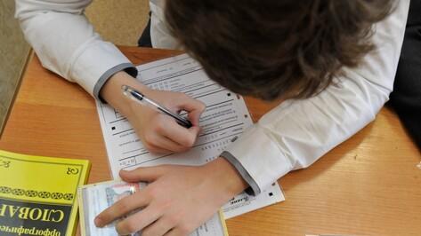 В Воронежской области двух школьников удалили с ЕГЭ по русскому языку