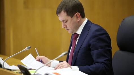 Депутаты скорректировали бюджет Воронежской области на 2019 год