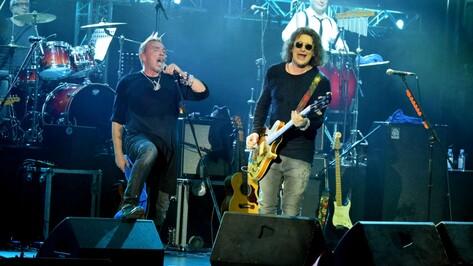 Группа «Бригада С» дала в Воронеже исторический концерт