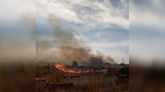 В соседнем с павловской Николаевкой селе предотвратили пожар