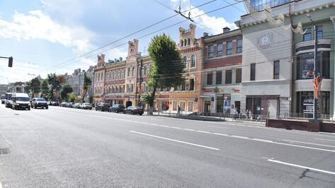 Поиски подрядчика для благоустройства проспекта Революции за 526 млн рублей начали в Воронеже
