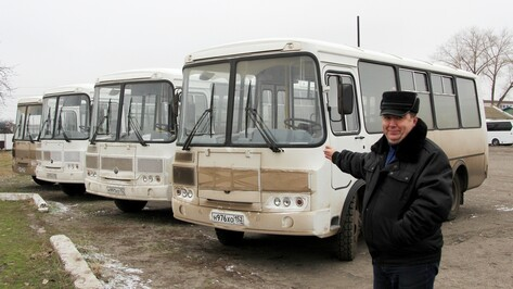 Новохоперский пассажирский автопарк пополнился 4 автобусами