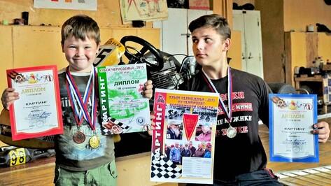 Бутурлиновские картингисты завоевали 3 медали на Чемпионате области