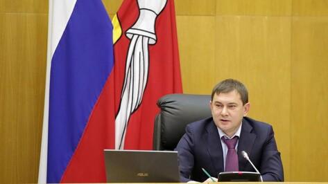 Председатель Воронежской облдумы укрепился в рейтинге глав законодательных органов