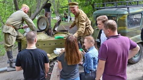 Воронежцам покажут военную технику накануне 9 Мая