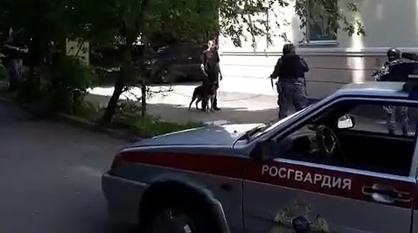 Пьяный мужчина с овчаркой устроил дебош на День России в Воронеже