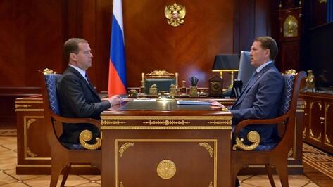 Дмитрий Медведев одобрил строительство путепровода в Лисках
