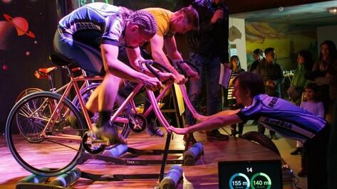 На фестивале «Велокино» воронежцы проедут спринт на велотренажерах