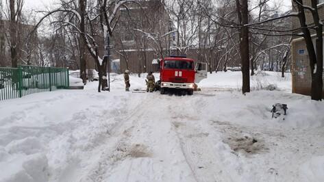В Воронеже произошел пожар в здании детсада №57