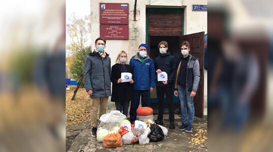 Хохольские волонтеры передали 60 кг овощей в Нижнедевицкую райбольницу