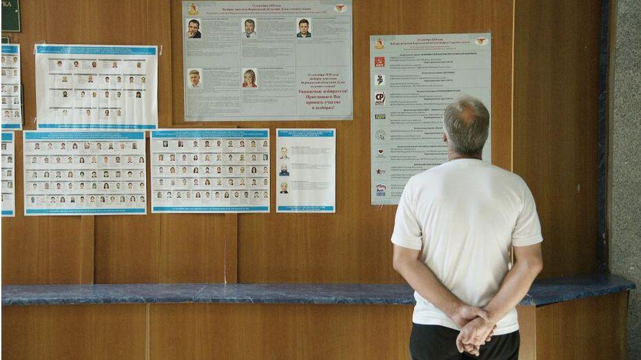 Облизбирком рассказал, сколько потратили кандидаты в депутаты Воронежской облдумы на выборы