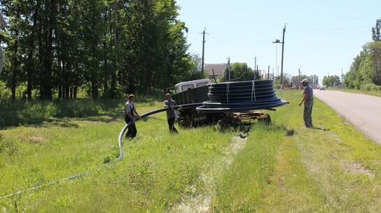 На строительство канализации в Таловой направят более 40 млн рублей