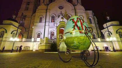 В канун Пасхи в Воронеже ожидают грозу
