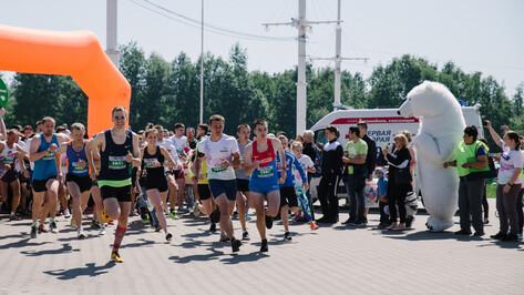 Воронежцев пригласили принять участие в олимпийском марафоне на 42,2 км