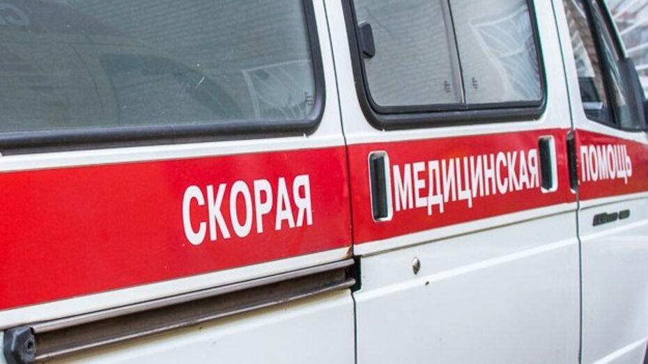 В Воронежской области мотоциклист сбил пенсионерку